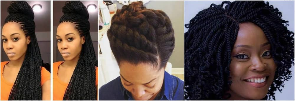 30 Gorgeous Twist Hairstyles For Natural Hair Tuko.co.ke