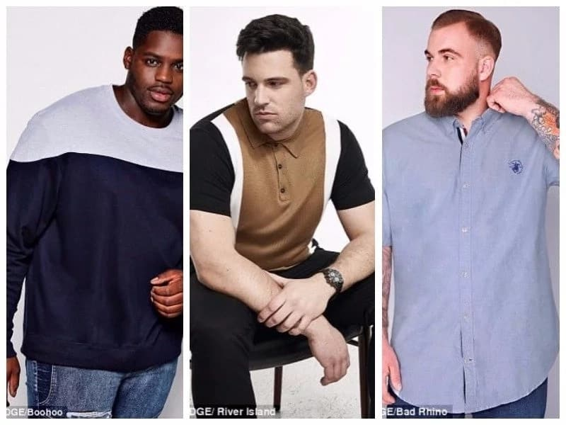 Big boys voice their concerns, explain why they shouldn't be labeled 'plus-size' models