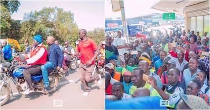 Mbunge wa Gatundu Moses Kuria apokelewa kama mfalme Kisumu