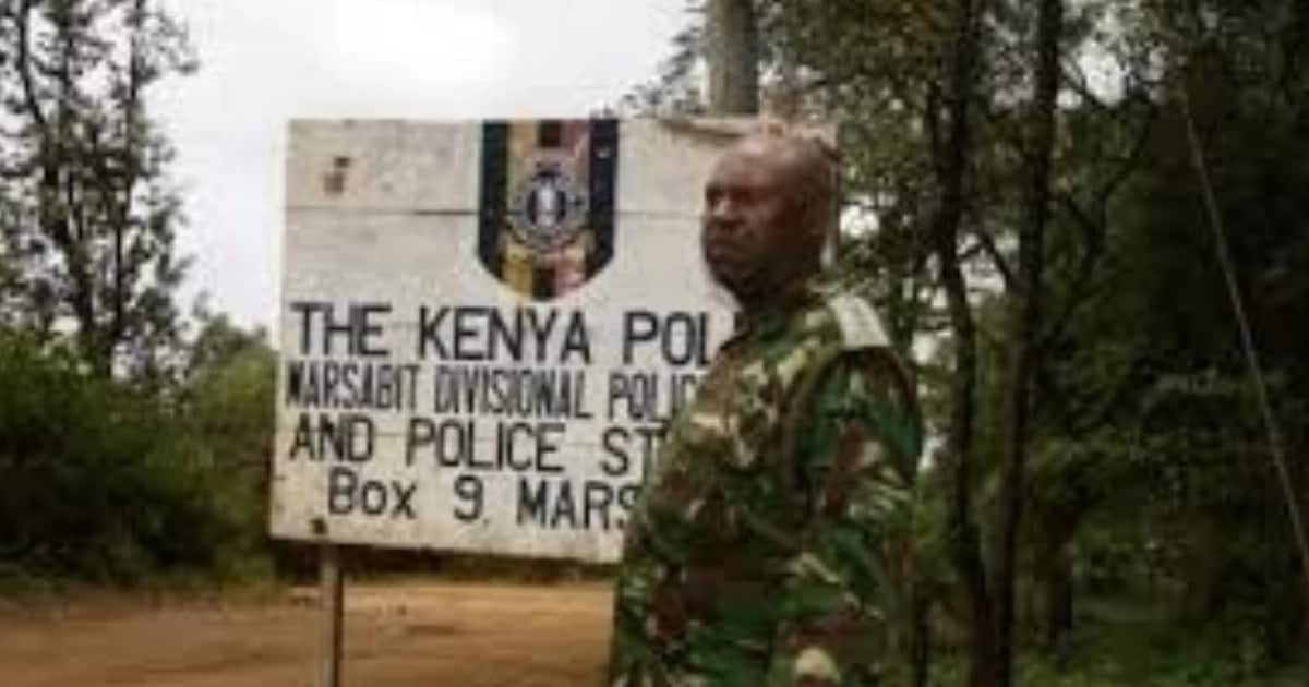 Marsabit county residents storm police station, clobber police boss and his juniors