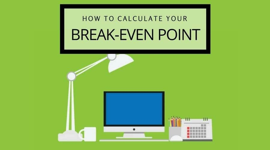 Break even point formula How to calculate break even point Calculating break even point Break-even point
