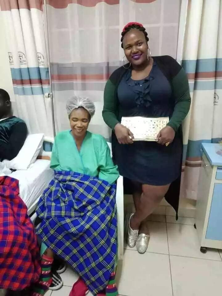 Popular Ohangla songstress Lady Maureen hospitalised