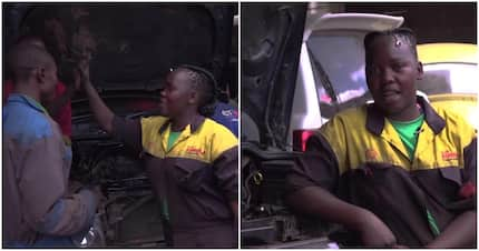 Meet 21-year-old Nairobi woman with incomparable skills to diagnose city automobiles