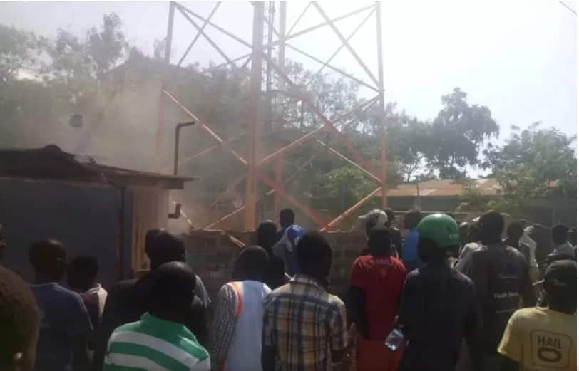 Govt reacts after Safaricom booster was destroyed in Kakamega