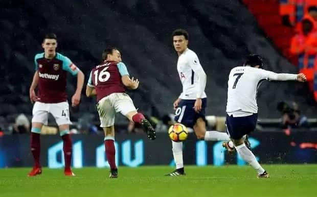 Brilliant Son Heung-min grabs a point for Wanyama's Tottenham against stubborn West Ham United