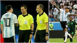 Nigerians attack Turkish referee for denying Super Eagles penalty against Argentina