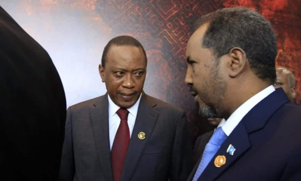 Kenya to stand shoulder to shoulder with Somalia against terrorism - Uhuru Kenyatta