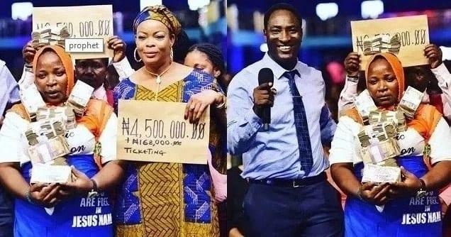 Nabii wa Nigeria awabariki makahaba 2 waliostaafu na KSh 1.9 milioni kuanza maisha yao upya