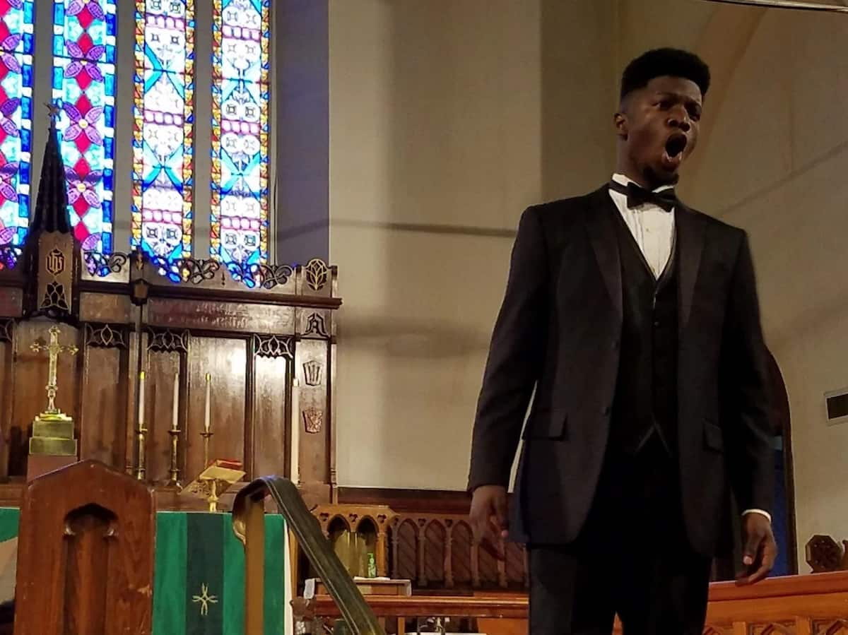 Anthony Anderson during his performance. Photo: The Washington Post/Petula Dvorak
