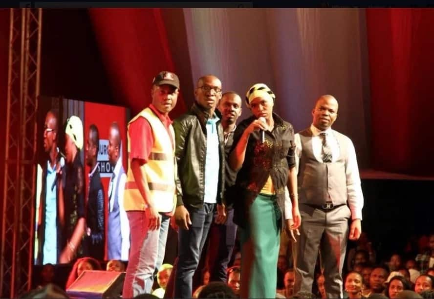 churchill show pulled off air