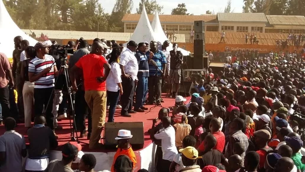 TJ Kajwang and Babu Owino outrageously declare themselves CJ amd Security minister
