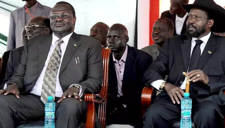 Rais wa Sudan Kusini atia saini mkataba wa amani na Riek Machar baada ya kukutana na Uhuru