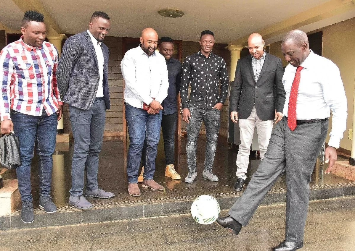Victor Wanyama, Mariga wakutana na Naibu rais William Ruto