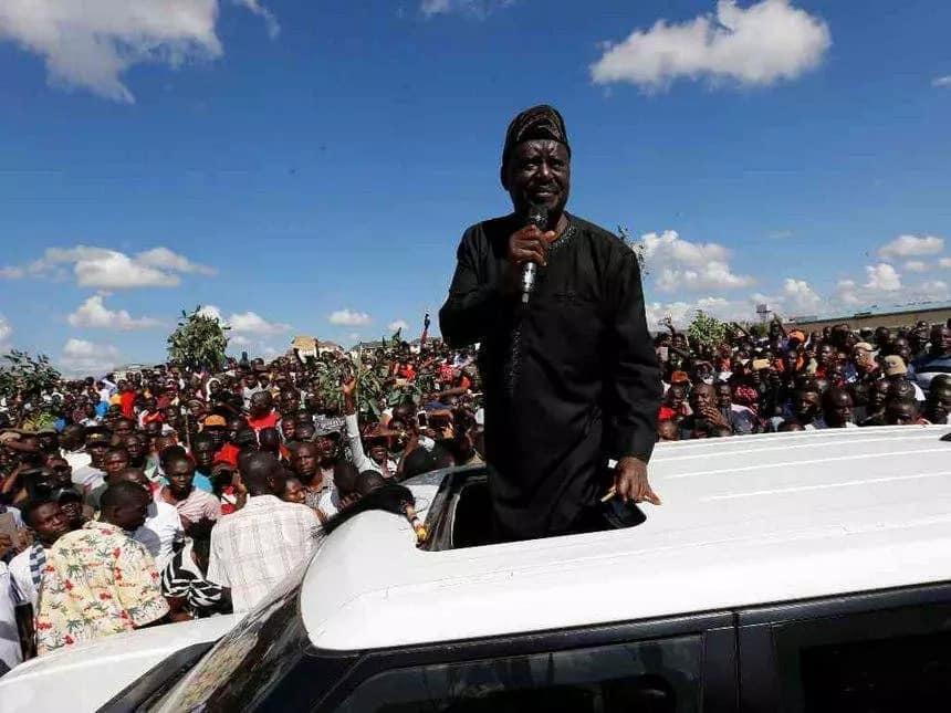 Vijana wa NRM waitaka jamii ya kimataifa kumuomba Raila Odinga na Wakenya msamaha