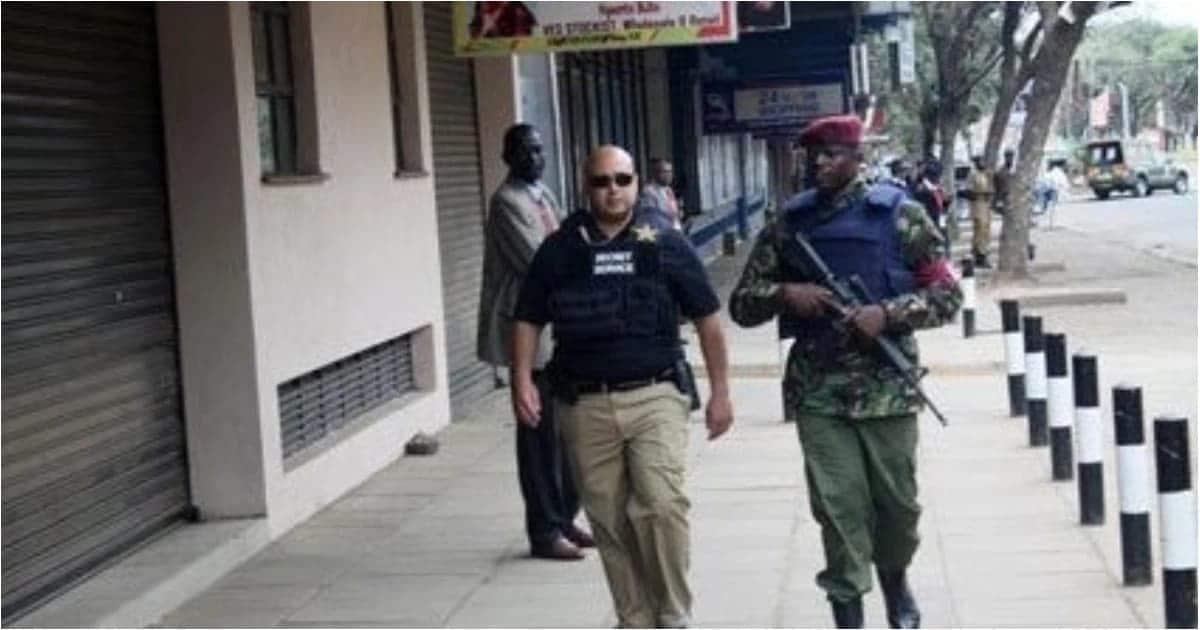 US Secret Service agents tighten security in K'Ogelo as Obama visits ancestral home