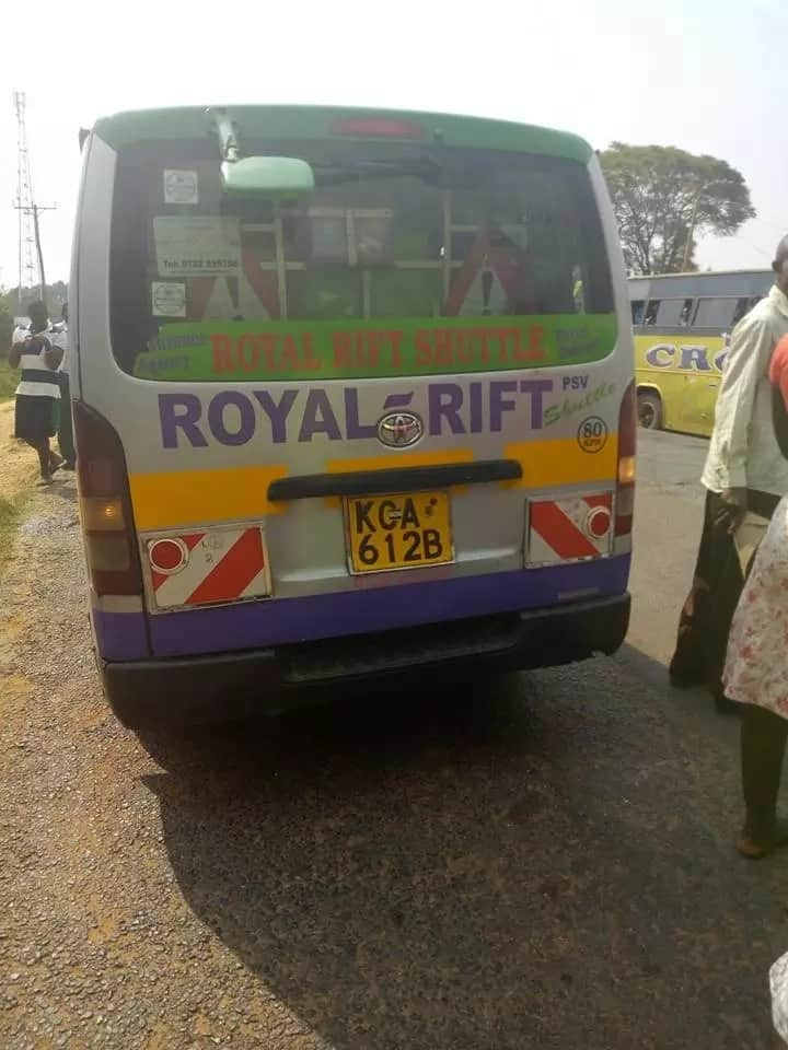 Accidents in CBD, Thika road and Kisumu