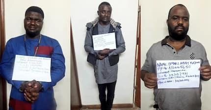 Detectives nab 3 foreigners engaging in electronic money theft in Kenya