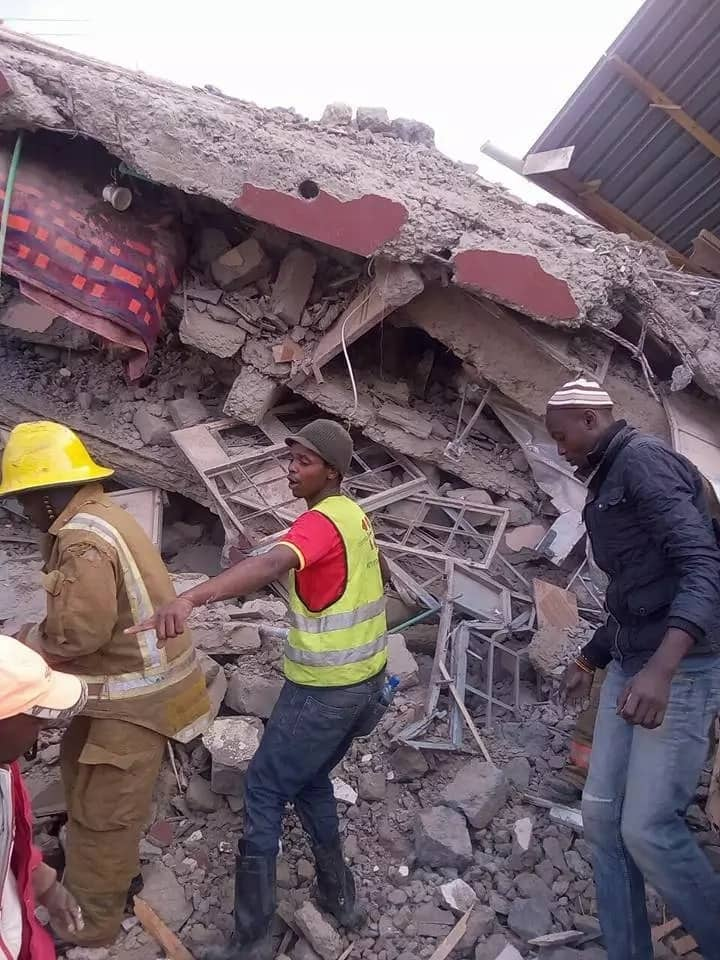 Building collapses in Ruai