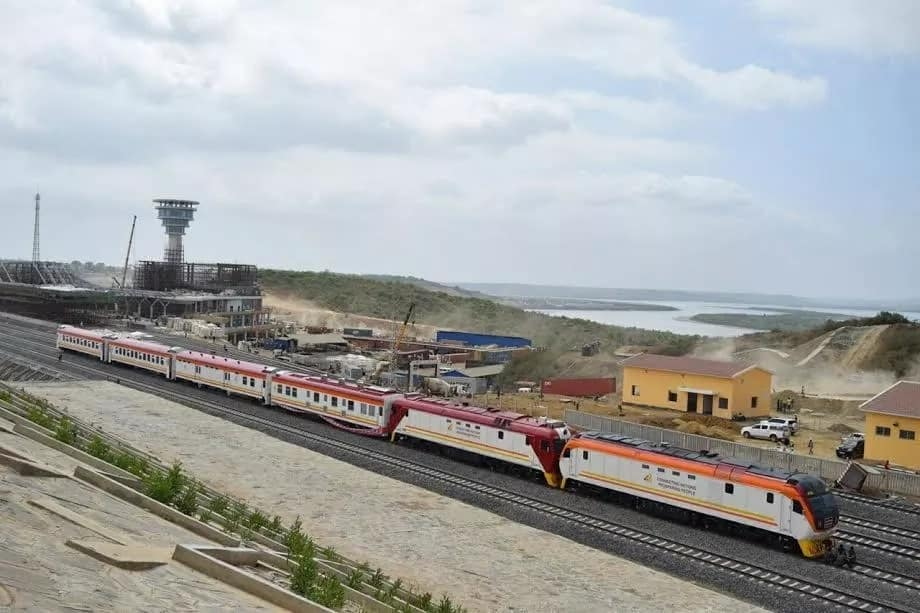 The Sgr Cargo Train Is No Doubt Jubilee S Master Stroke To