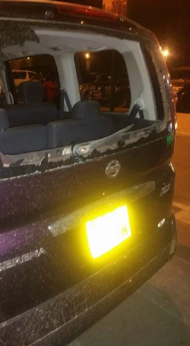 Lawyer attacked in Kisumu by pro NASA supporters, his car vandalised and property stolen wishes he had a gun
