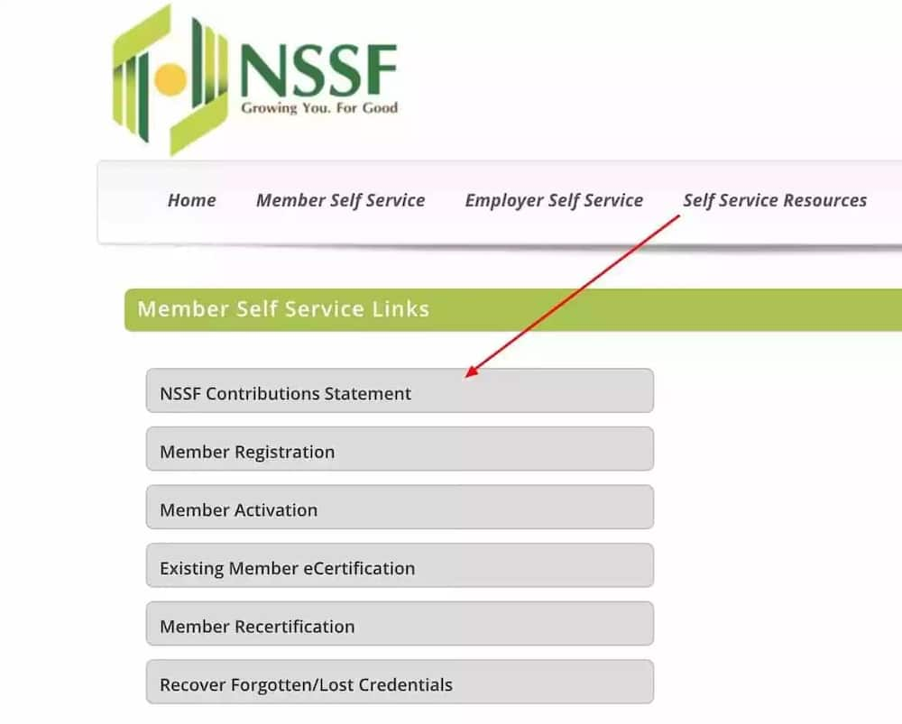 nssf Kenya statement