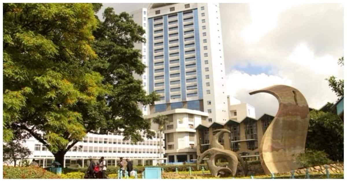 The University of Nairobi, main campus in Nairobi