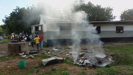 Njuri Ncheke elders perform rituals, curse those behind student unrest
