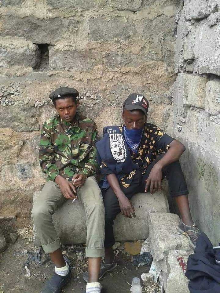 Photos of the dnagerous young boys shot dead in Eastleigh