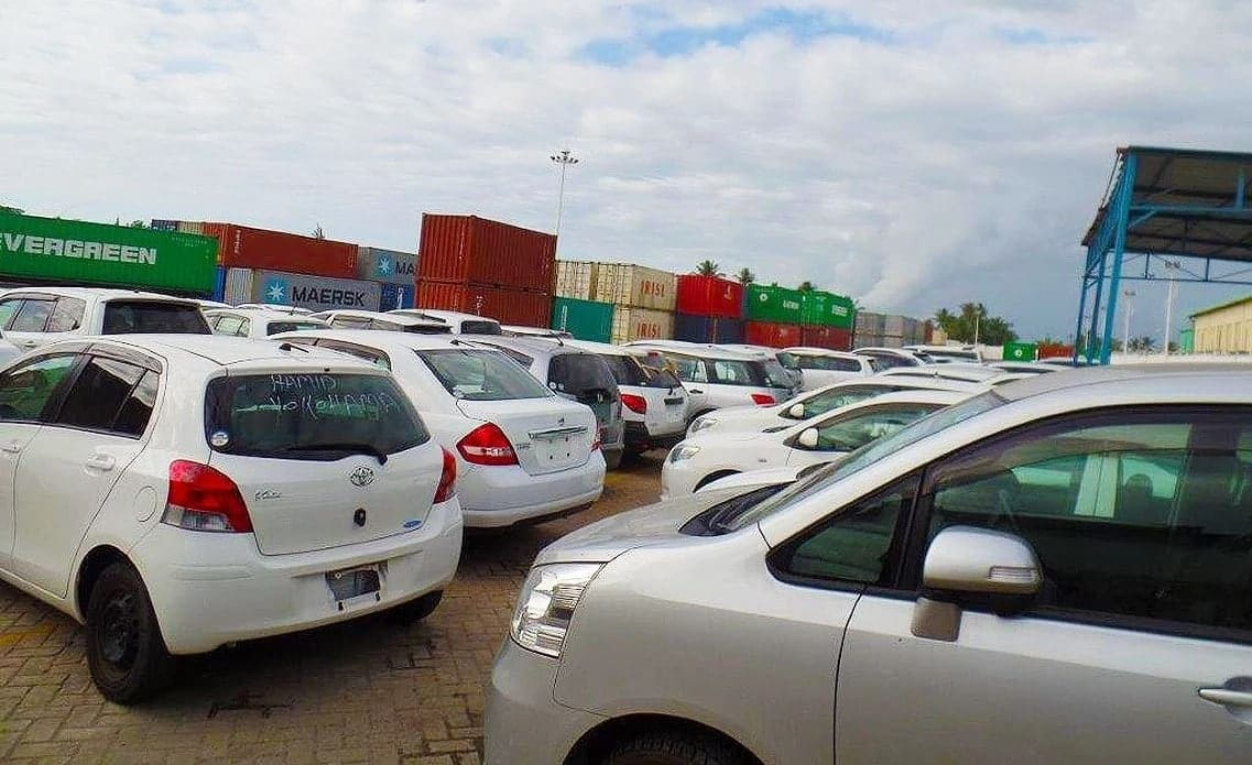 importing a car to kenya