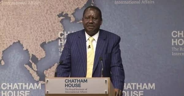 Miguna Miguna supporters pitch camp outside Chatham house in UK to protest Uhuru speech