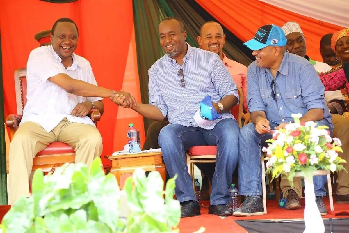 Uhuru azuru ghafla kaunti ya Lamu na kuacha ujumbe mkali