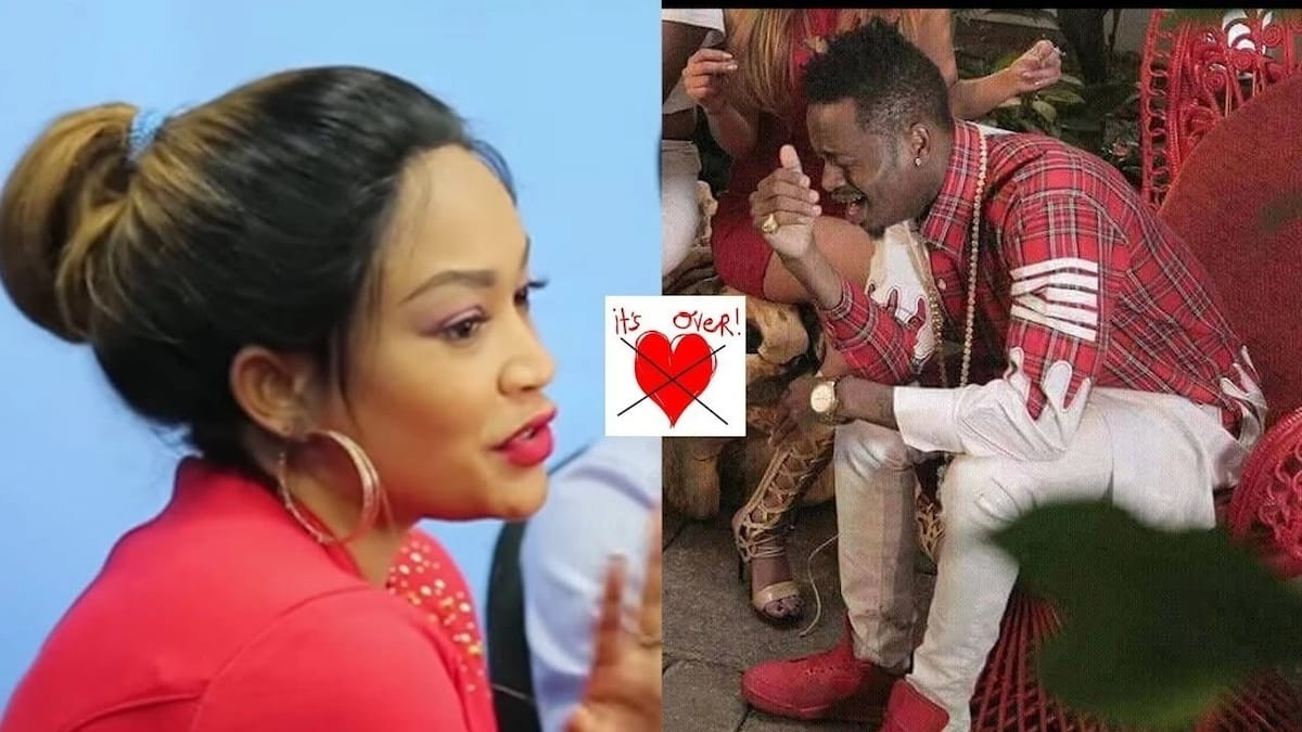 Diamond Platnumz makes a move after being dumped by Zari the Boss Lady