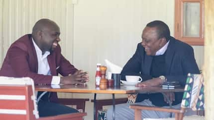 Uhuru buys Murkomen tea and he can't keep quiet about it