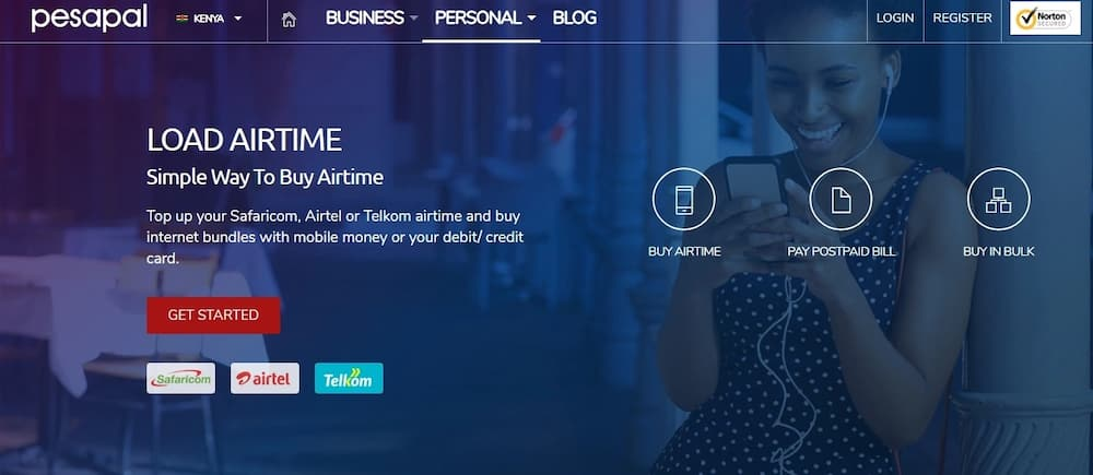 Buy Telkom airtime from Mpesa