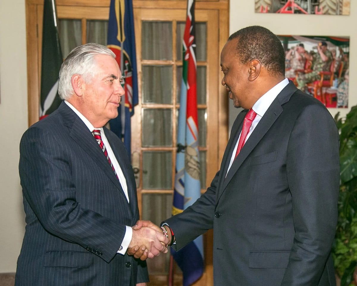 Trump fires Secretary of State Rex Tillerson hours after visit to Kenya