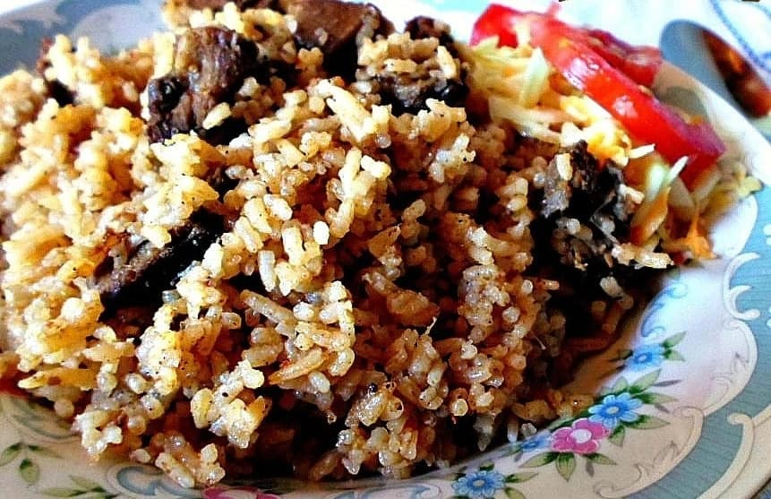 How to cook pilau rice