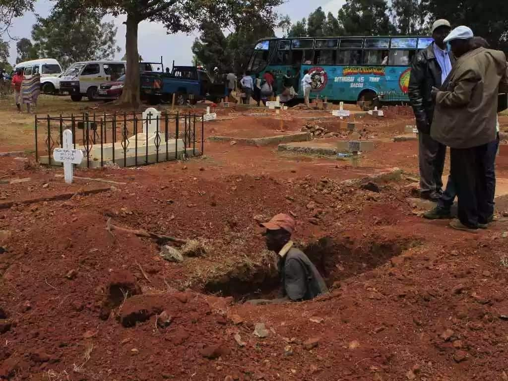 Busia man's grave bursts open 3 days after burial after family ignored his wishes