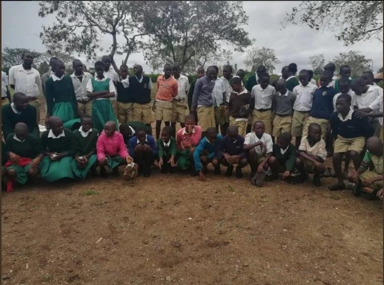 MP Otiende Amollo distributes 1,700 free shoes to pupils days after building constituents decent houses