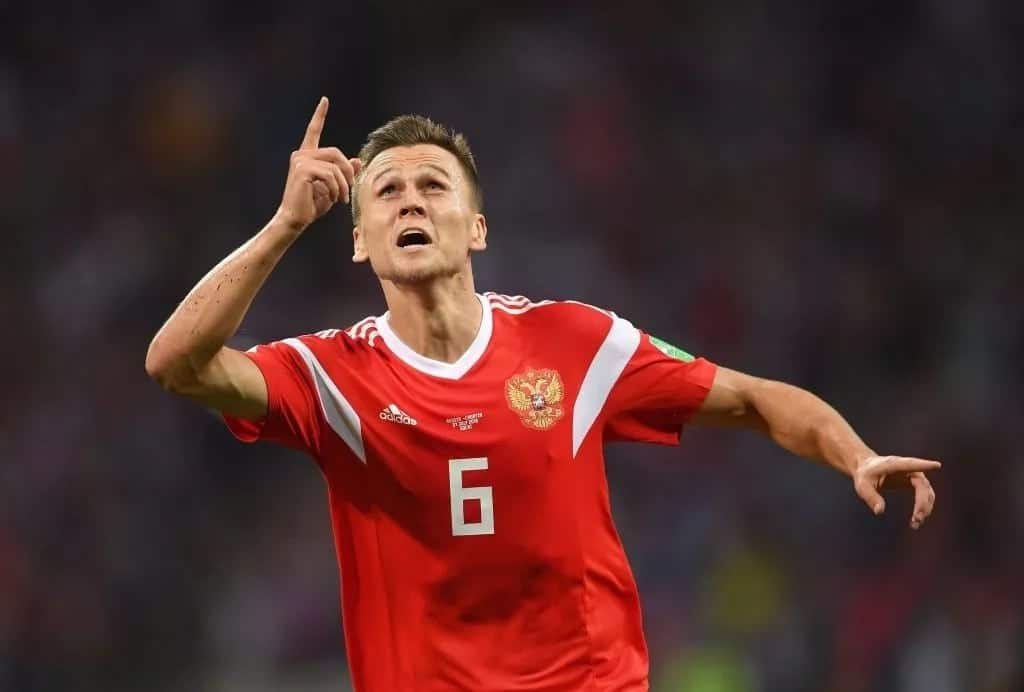Russia's top scorer at World Cup Dennis Cheryshev under investigation for alleged doping