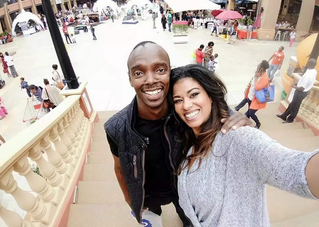 Who is Julie Gichuru Husband? Photos