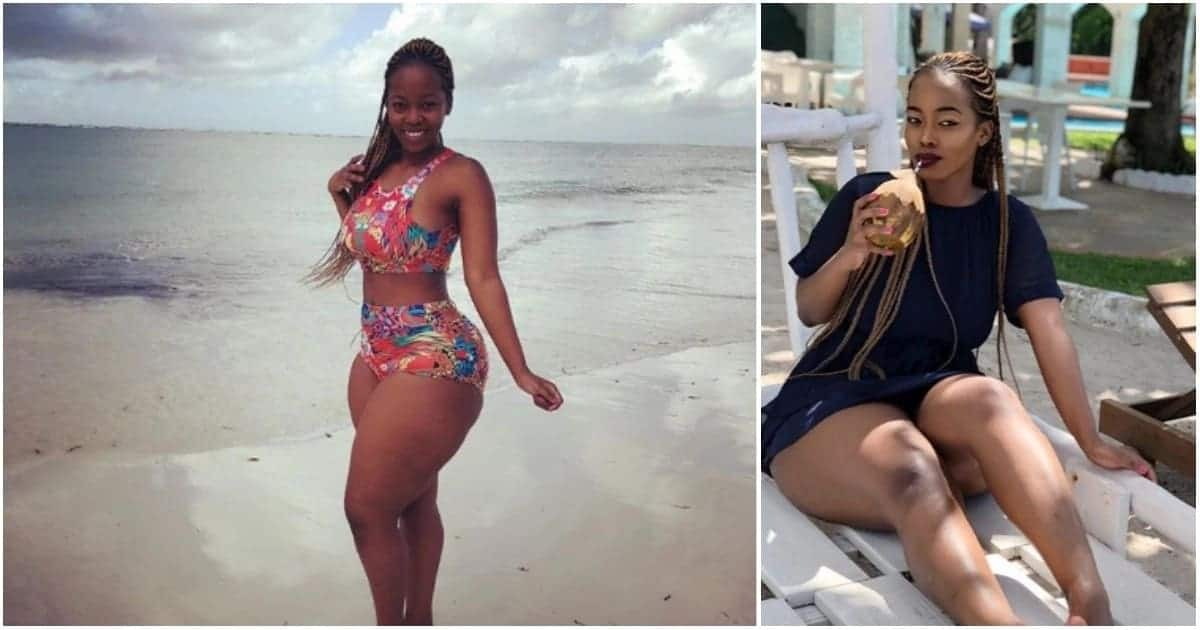 Socialite Corazon Kwamboka deletes sexually provocative photo after pressure from fans