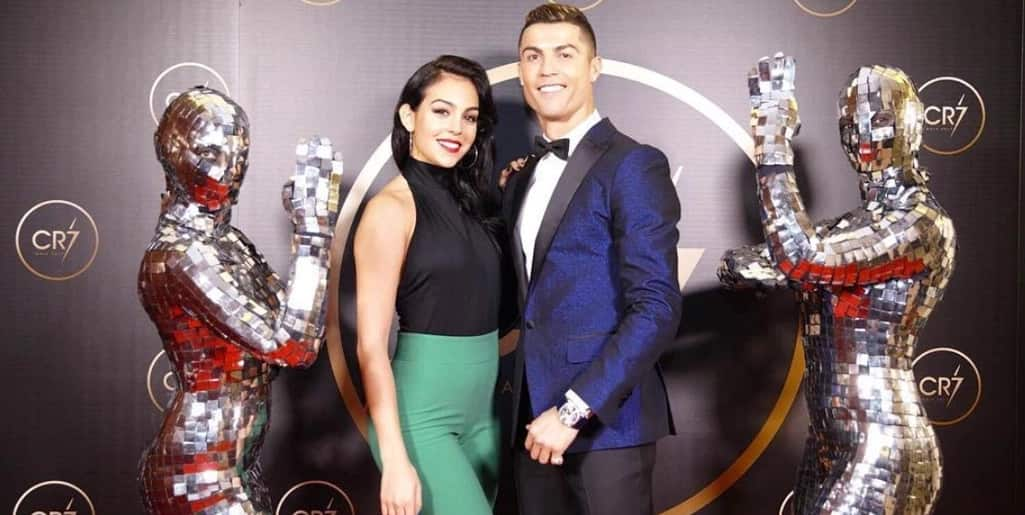 Cristiano Ronaldo wife and son