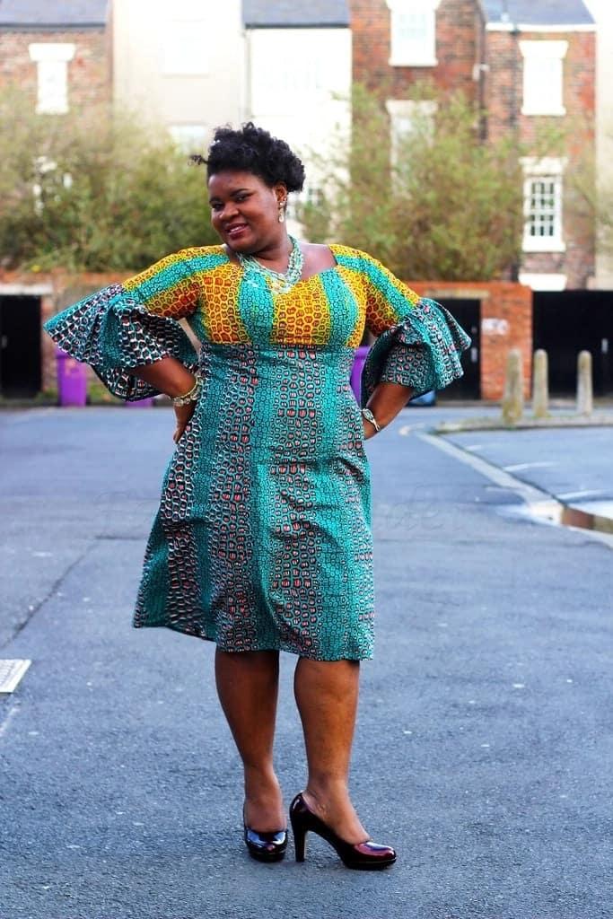 Modern African print dresses 2018, african print dresses plus size,modern african print dresses