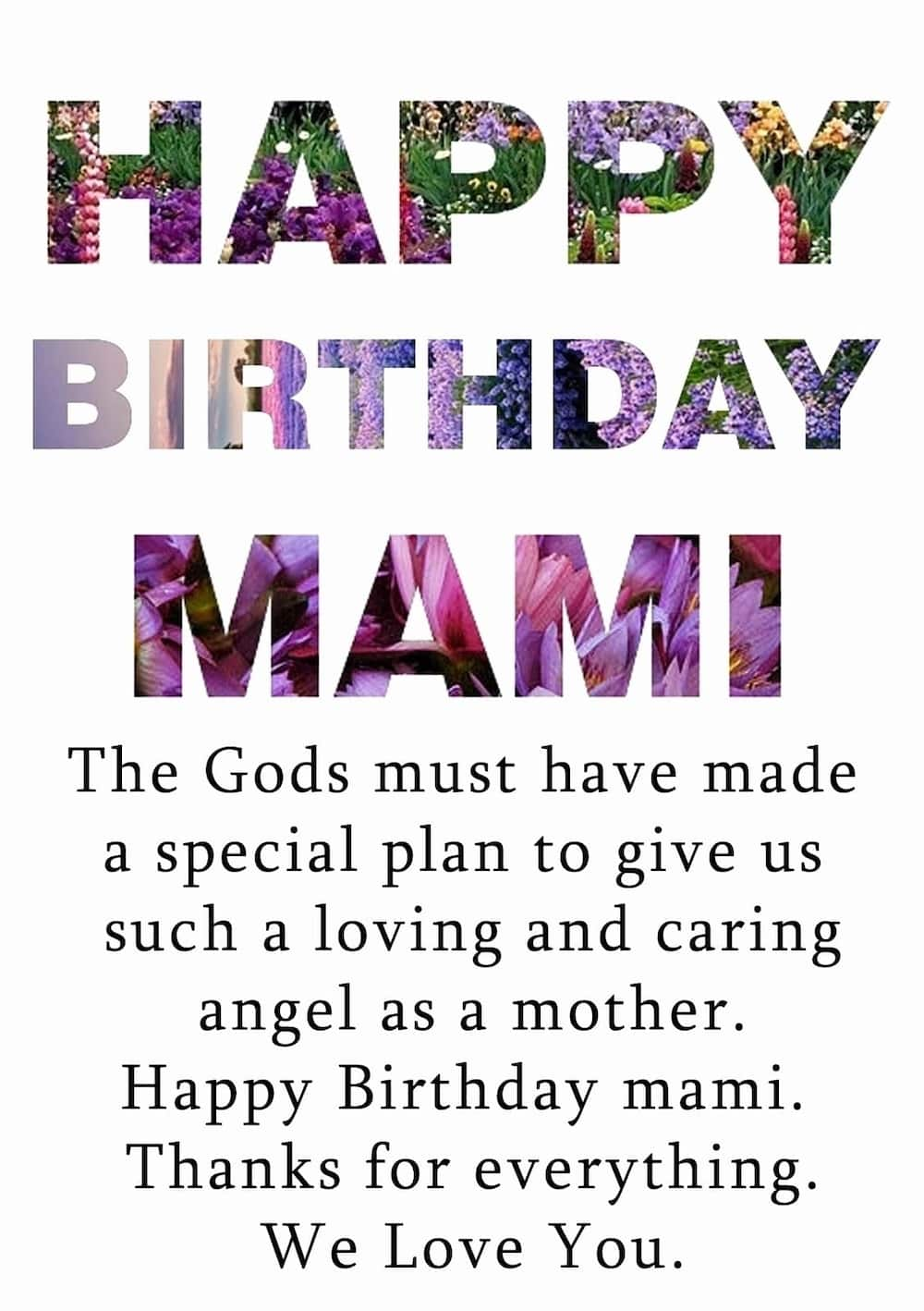 Sweet happy birthday mom messages and quotes ▷ Tuko.co.ke