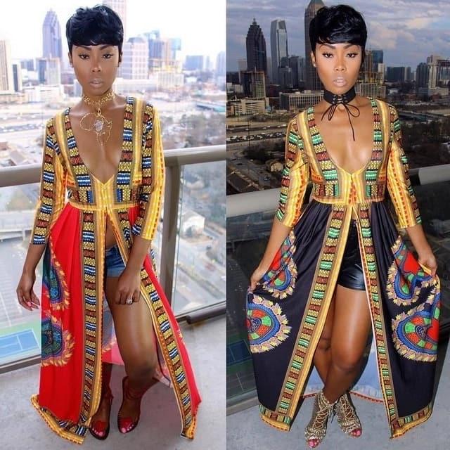 Dashiki dress, Dashiki dress designs, Dashiki dress Kenya, African dashiki dress, Modern dashiki dress