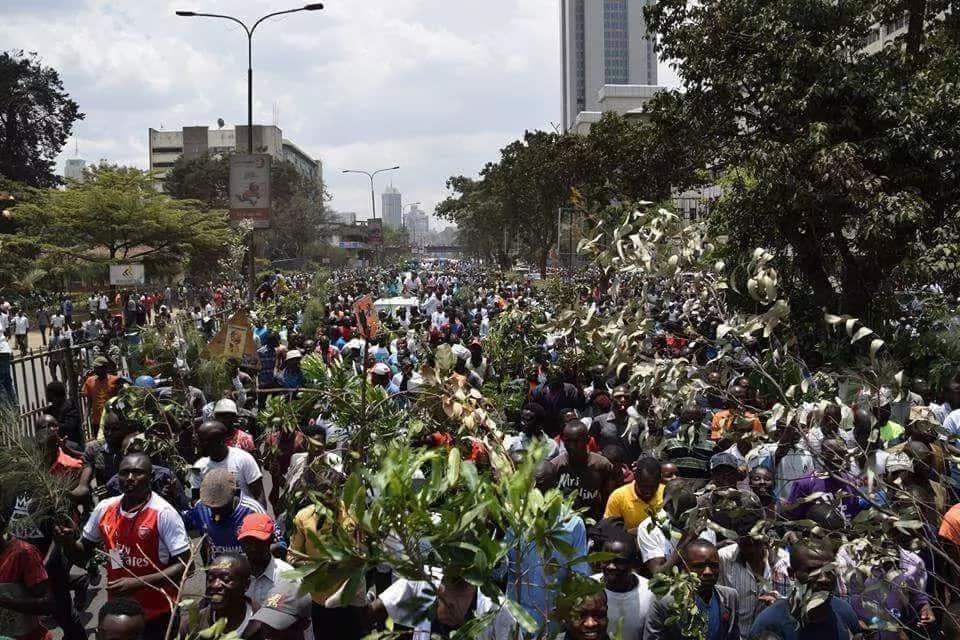 We will deal with you harshly - Uhuru's govt warns NASA