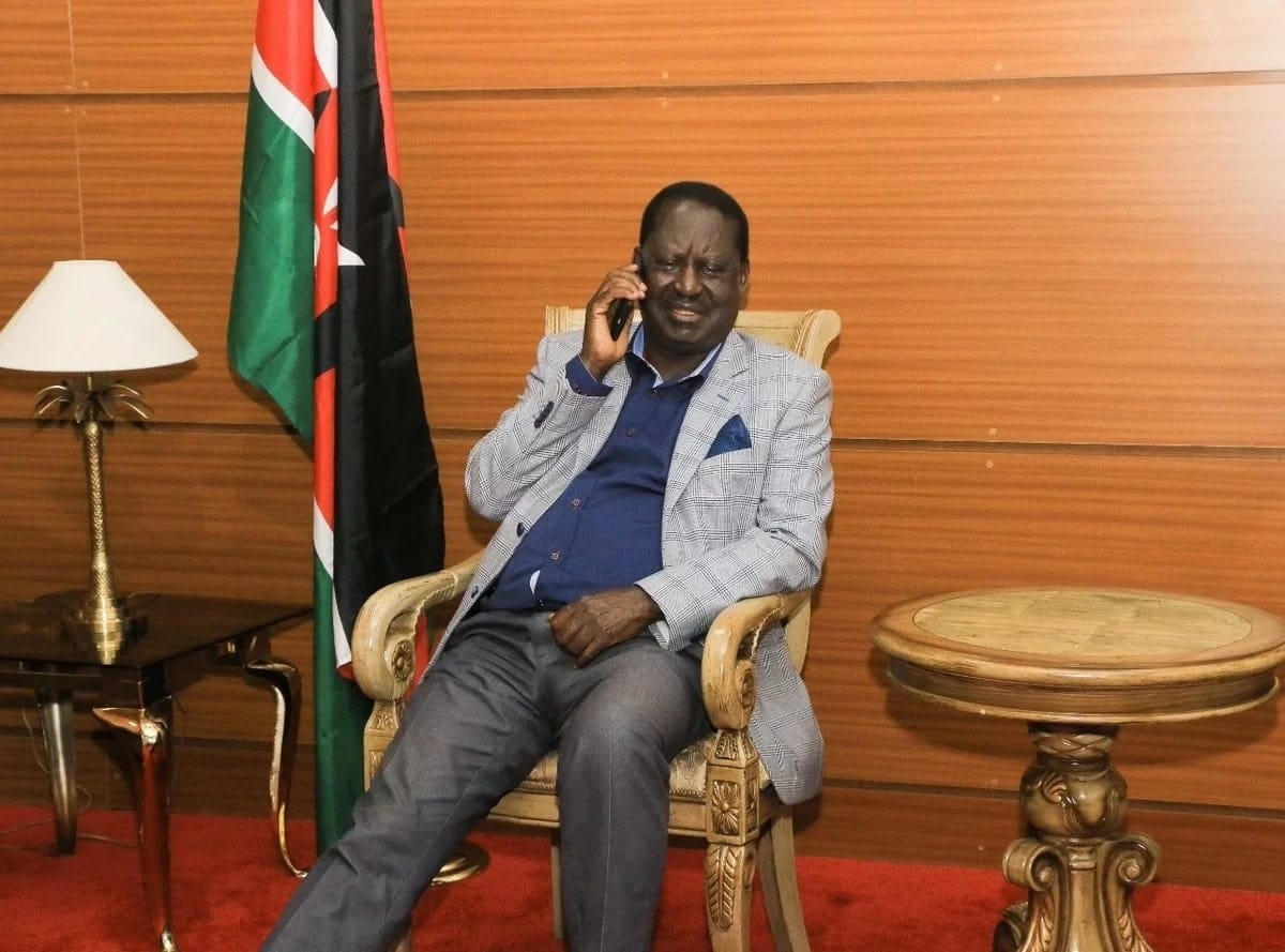 Raila Odinga flies out to attend Koffi Anna's burial in as many foreign trips