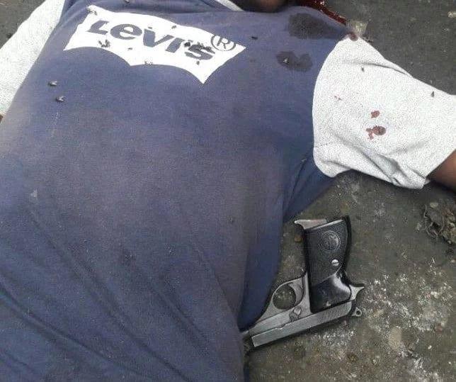 Police gun down Mpesa and Matatu robbing thug