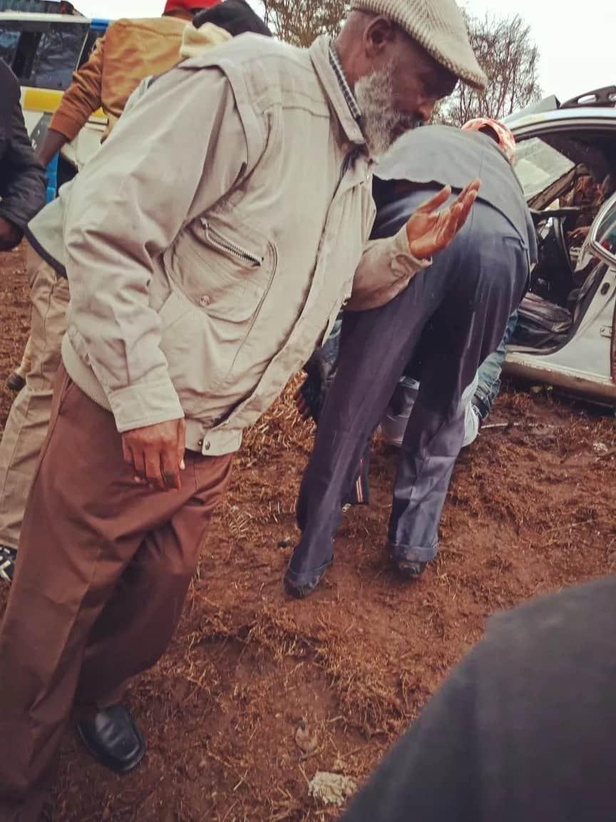 MCA wa kaunti ya Laikipia aponea kifo kwenye ajali mbaya ya barabarani