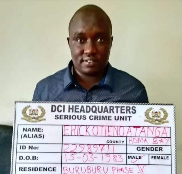 Detectives arrest man masquerading as KDF officer, selling fake military tenders